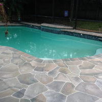 Concrete Deck Design 1000 Images About Deck And Fence On Pinterest Stamped Concrete - Home Furniture Design